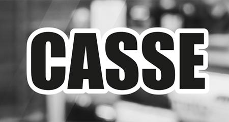 Adesivo Casse