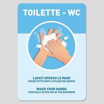 Adesivo Lavare Le Mani