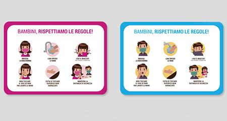 Adesivo regole per Bambini