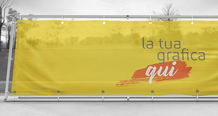 Banner microforato