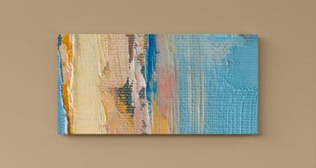 Canvas glossy