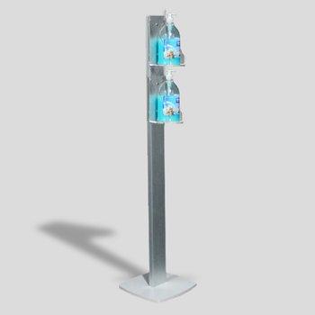 Colonnina dispenser Gel Igienizzante DOUBLE