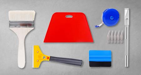 Set strumenti applicazione carta da parati