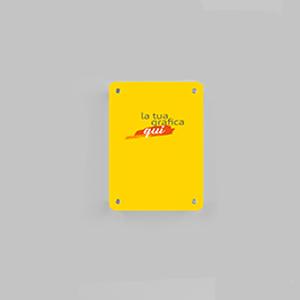 Targa Plexiglass 8mm