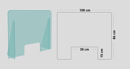 mySHiELD - Schermo protettivo parafiato 100x86 cm